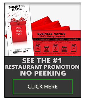 See the #1 Restaurant Promotion - No Peeking